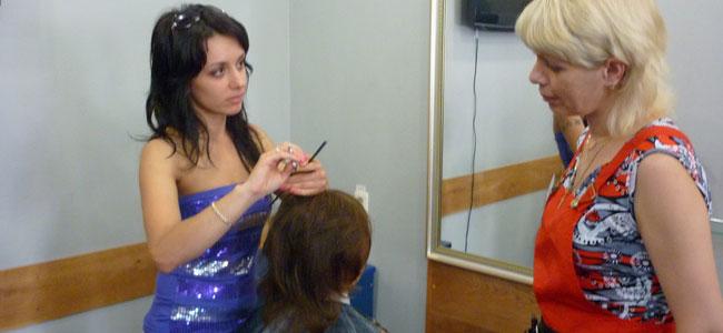 Школа парикмахеров мастер класс сделай сам #9